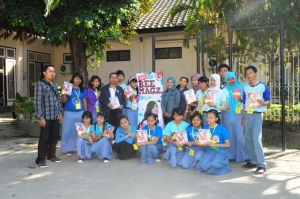 School to school Road Show with Beemagz : SMK 4 Mataram
