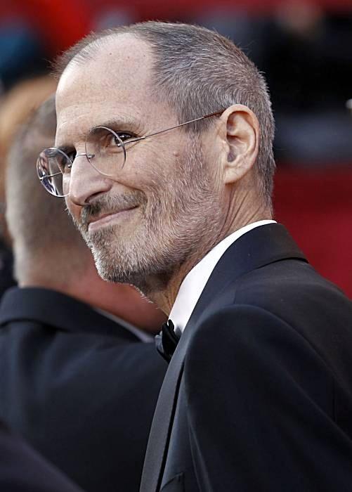 Steve Jobs, Smiley man (courtesy : allaboutstevejobs.com)