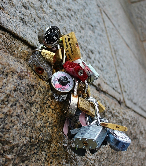 a number of locks heart