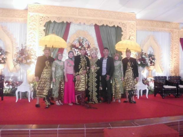 endra's wedding'