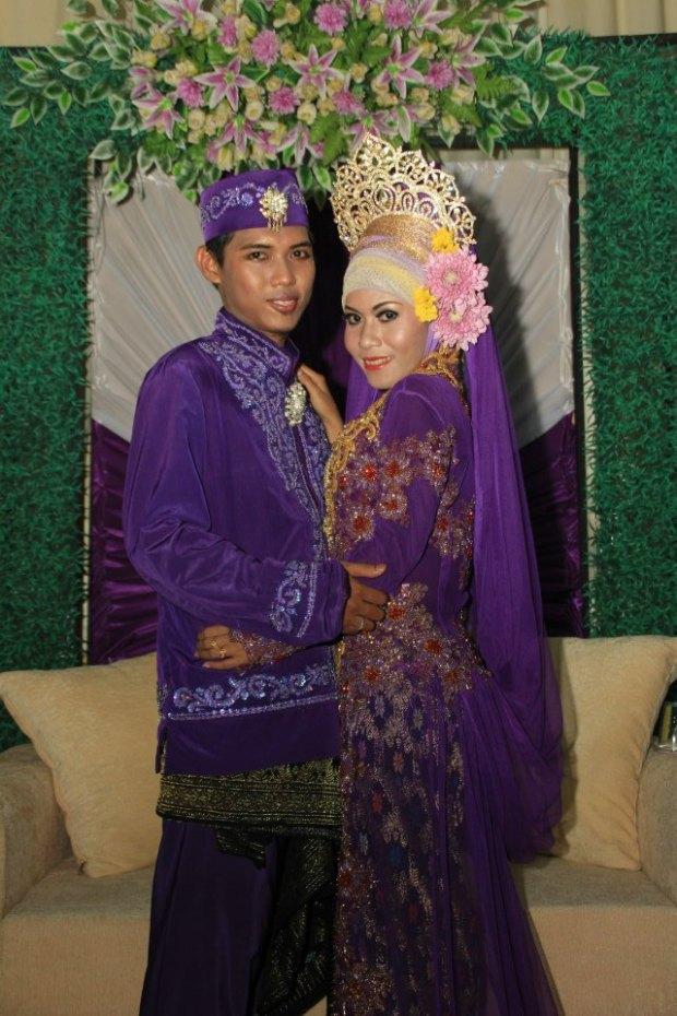 Satria's wedding