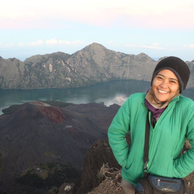 Rinjani summit 2014