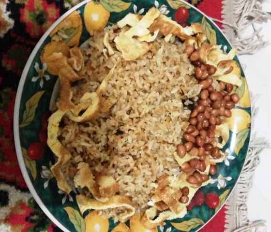 nasi goreng telur kacang ala chef El