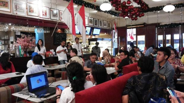 Suasana di Djakarta Cafe